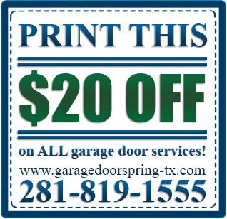 Garage Door Spring Tx 24 Hour Garage Door Repair